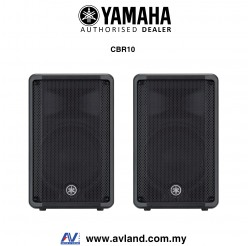 Yamaha CBR10 700-Watt 10 inch Passive Speaker - Pair (CBR-10/CBR 10) *Crazy Sales Promotion*