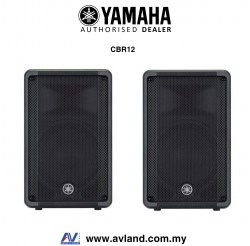 Yamaha CBR12 700-Watt 12 inch Passive Speaker - Pair (CBR-12/CBR 12) *Crazy Sales Promotion*