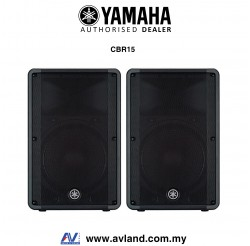 Yamaha CBR15 1000-Watt 15 inch Passive Speaker - Pair (CBR-15/CBR 15) *Crazy Sales Promotion*