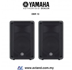 Yamaha DBR10 700-watt Powered Speaker - Pair (DBR-10) * Crazy Sales Promotion *