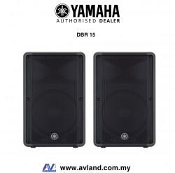 Yamaha DBR15 800-watt Powered Speaker - Pair (DBR-15) * Crazy Sales Promotion *