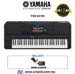 Yamaha PSR-SX700 61-key Arranger Workstation (PSRSX700 / PSR SX700)