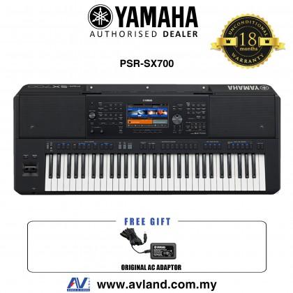 Yamaha PSR-SX700 61-key Arranger Workstation (PSRSX700 / PSR SX700)