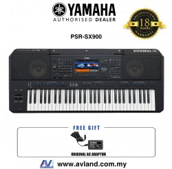 Yamaha PSR-SX900 61-key Arranger Workstation (PSRSX900 / PSR SX900)