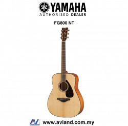Yamaha FG800 Solid Spruce Top Folk Acoustic Guitar-Natural (FG-800)