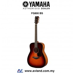 Yamaha FG800 Solid Spruce Top Folk Acoustic Guitar - Brown Sunburst (FG-800)