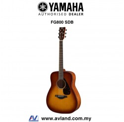 Yamaha FG800 Solid Spruce Top Folk Acoustic Guitar-Sand Burst (FG-800)
