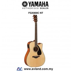 Yamaha FGX800C Dreadnought Cutaway Acoustic-Electric Guitar - Natural (FGX-800C)