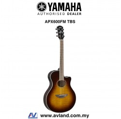Yamaha APX600FM Flame Maple Top Acoustic-Electric Guitar - Tobacco Brown Sunburst (APX-600FM)