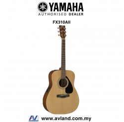 Yamaha FX310A II Acoustic-Electric Guitar with Pickup (FX310AII) - Natural