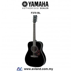 Yamaha F370 Full Size Acoustic Guitar - Black (F-370) *Crazy Sales Promotion*