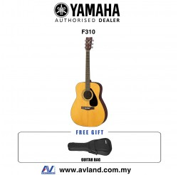Yamaha F310 Best Budget Beginner Acoustic Guitar with Guitar Bag (F-310) *Crazy Sales Promotion*
