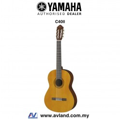 Yamaha C40 II Full Size Nylon-String Classical Guitar (C40II)