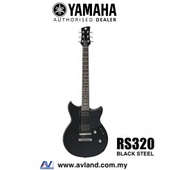 Yamaha Revstar RS320 Electric Guitar - Black Steel (RS 320/RS-320)