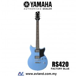 Yamaha Revstar RS420 Electric Guitar - Factory Blue (RS 420/RS-420)
