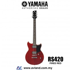 Yamaha Revstar RS420 Electric Guitar - Fired Red (RS 420/RS-420)