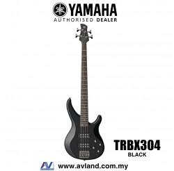 Yamaha TRBX304 4-string Electric Bass Guitar - Black (TRBX 304/TRBX-304)