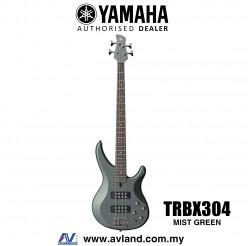 Yamaha TRBX304 4-string Electric Bass Guitar - Mist Green (TRBX 304/TRBX-304)