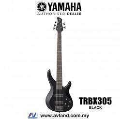 Yamaha TRBX305 5-string Electric Bass Guitar - Black (TRBX 305/TRBX-305)