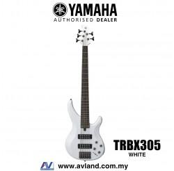 Yamaha TRBX305 5-string Electric Bass Guitar - White (TRBX 305/TRBX-305)
