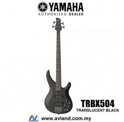 Yamaha TRBX504 4-string Electric Bass Guitar - Translucent Black (TRBX 504/TRBX-504)