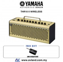 "Yamaha THR10 II Wireless - 20-watt 2x3"" Modeling Combo with Line 6 Relay G10T Wireless Transmitter (THR10II WL)"