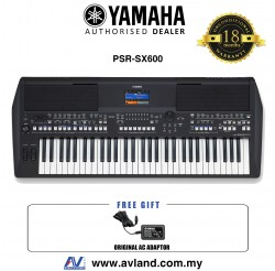Yamaha PSR-SX600 61-key Arranger Workstation (PSRSX600 / PSR SX600)