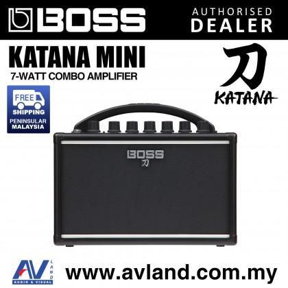 Boss Katana Mini 7-Watt Combo Amplifier (KTN-Mini/Katana-Mini)