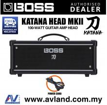 Boss Katana Head MkII - 100-watt Guitar Amp Head (Katana-Head/KTN-Head)