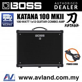 Boss Katana 100 MkII - 100-watt 1x12 Guitar Combo Amp (KATANA-100 / KATANA100)
