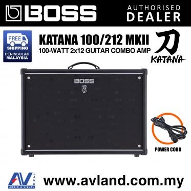Boss Katana 100/212 MkII - 100-watt 2x12 Guitar Combo Amp (Katana-100/212 / Katana100/212)