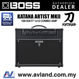 """Boss Katana Artist MkII 1x12"""" 100-watt Combo Amp (KATANA-ARTIST MKII)"""