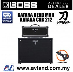 Boss Katana Head MkII with Katana Cabinet Guitar Amplifier