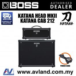 Boss Katana Head MkII with Katana Cabinet Guitar Amplifier