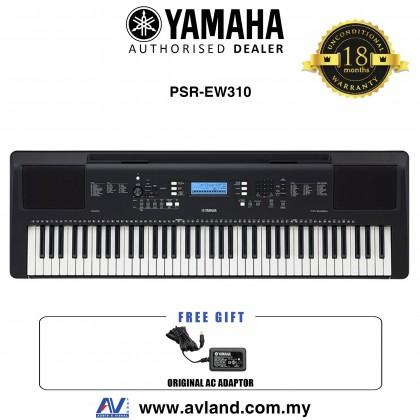 Yamaha PSR-EW310 76-Keys Portable Keyboard (PSREW310 / PSR EW310)