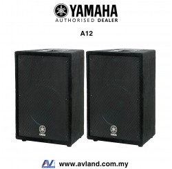 Yamaha A12 12-Inch 2-Way Passive Loudspeaker - Pair (A-12/A 12)