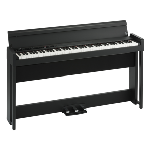 Korg C1 Air Digital Piano with Keyboard Bench - Black (C1AIR / C-1)