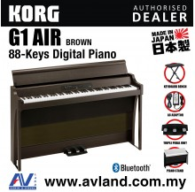Korg G1 Air Digital Piano with Keyboard Bench - Brown (G1AIR / G-1)