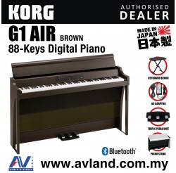 Korg G1 Air Digital Piano with Keyboard Bench - Brown (G1AIR / G-1)