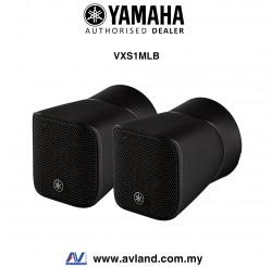 Yamaha VXS1MLB VXS Series Miniature Cabinet Speakers - Black Pair (VXS-1MLB)