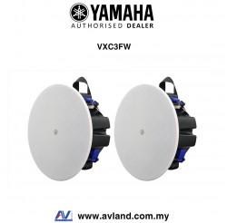 "Yamaha VXC3F VXC Series 3.5"" Full Range Ceiling Speakers - White (Pair)"