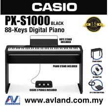 Casio Privia PX-S1000 88-key Digital Piano - Black (PXS1000)