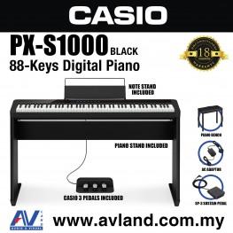 Casio Privia PX-S1000 88-key Digital Piano - Black (PXS1000)