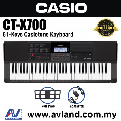 Casio CT-X700 61-Keys Portable Keyboard (CTX700)