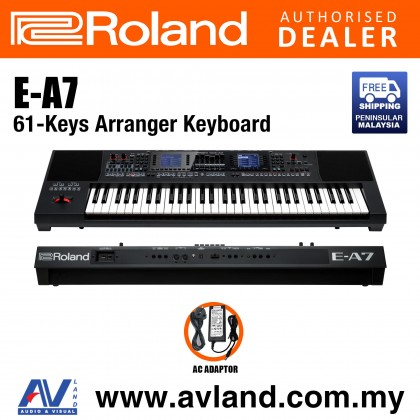 Roland E-A7 61-Keys Expandable Arranger (EA7 E A7)