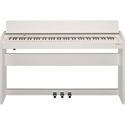 Roland F-140R 88-key Digital Piano with FREE RH-5 Headphone - White (F140R F 140R)