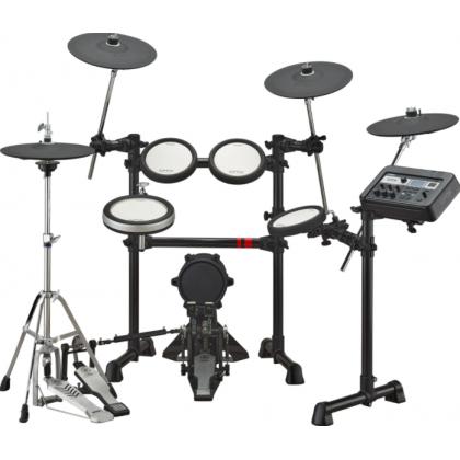 Yamaha DTX6K3-X Electronic Drum Set with Alpha Kick Pedal, Yamaha Headphone, Drum Stool and Drumsticks (DTX6K3 X / DTX 6K3 X / DTX6K3X)