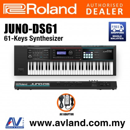 Roland JUNO-DS61 61-Keys Synthesizer (JUNO DS61 JUNODS61)