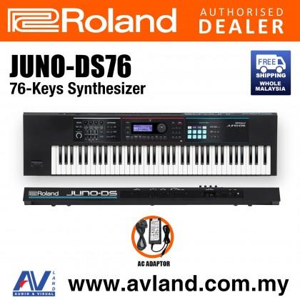Roland JUNO-DS76 76-Keys Synthesizer (JUNO DS76 JUNODS76)